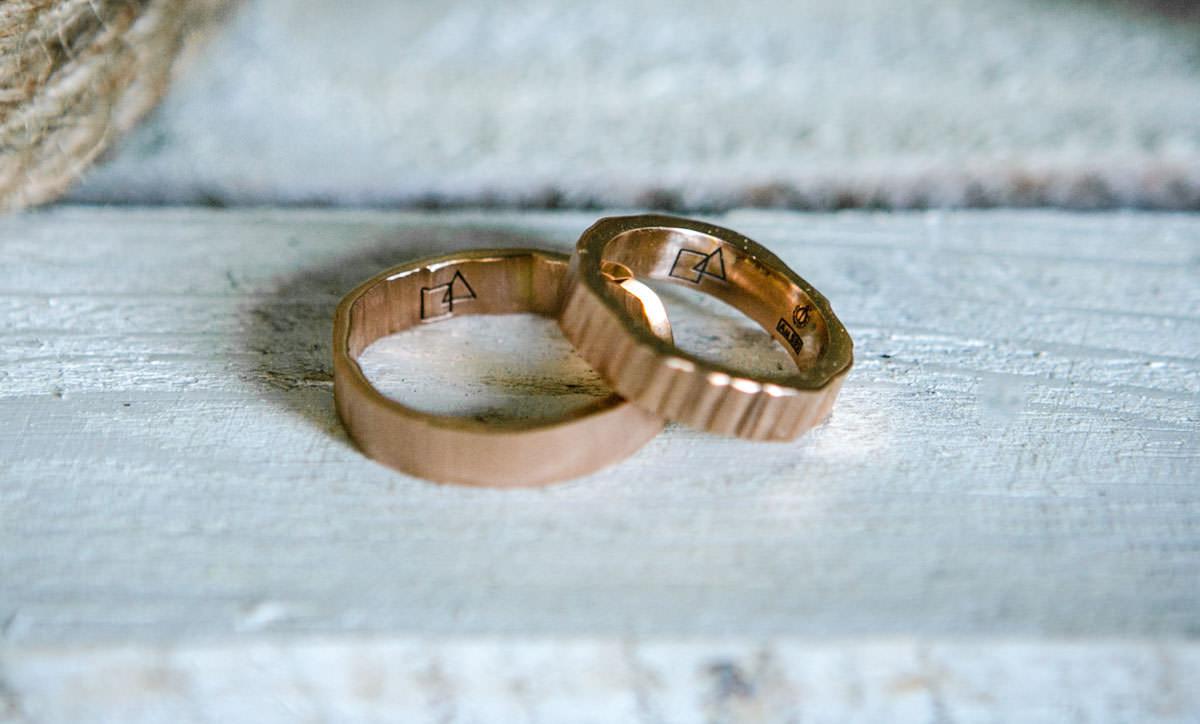 reportaż ślubny obrączki