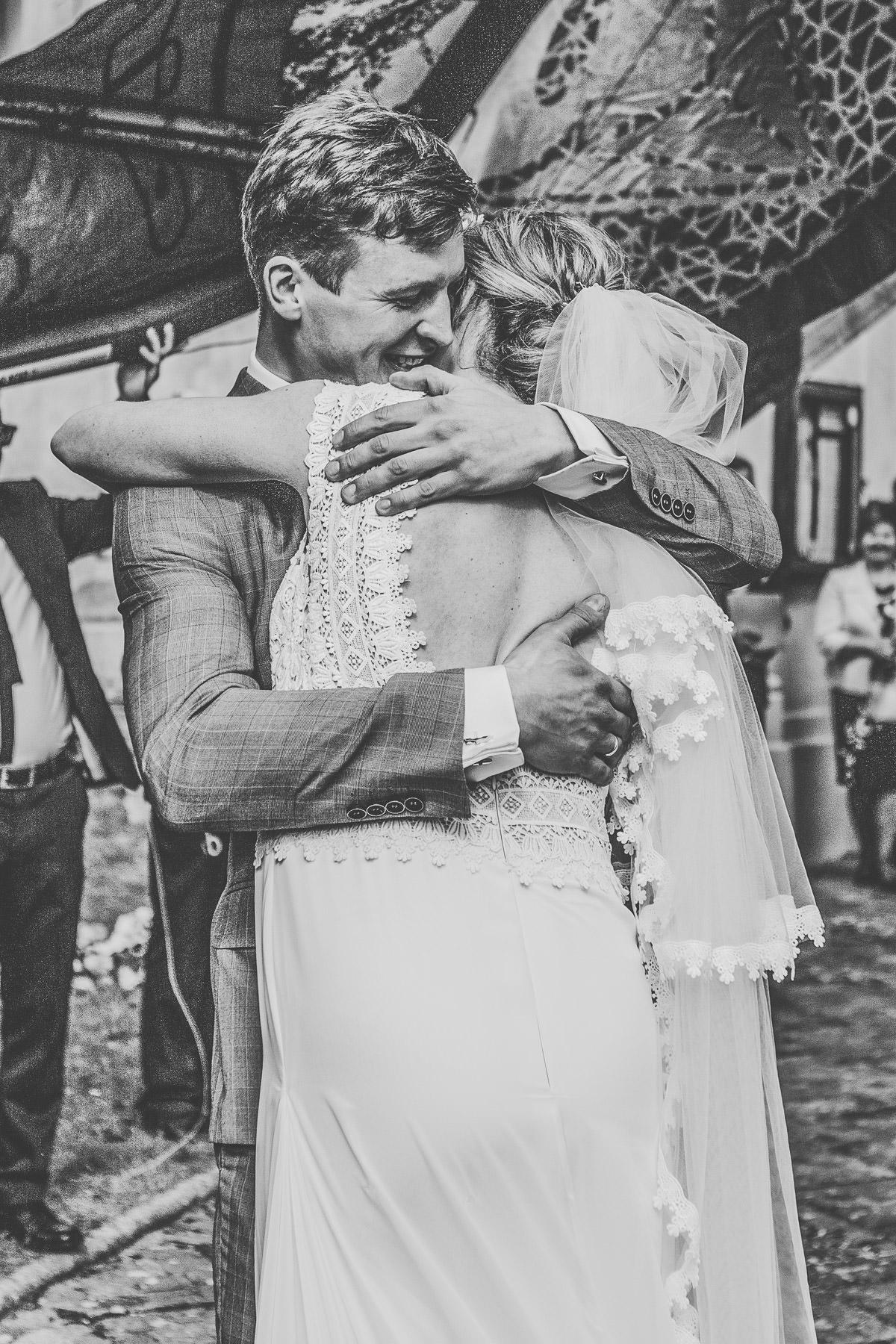reportaż ślubny po ceremonii