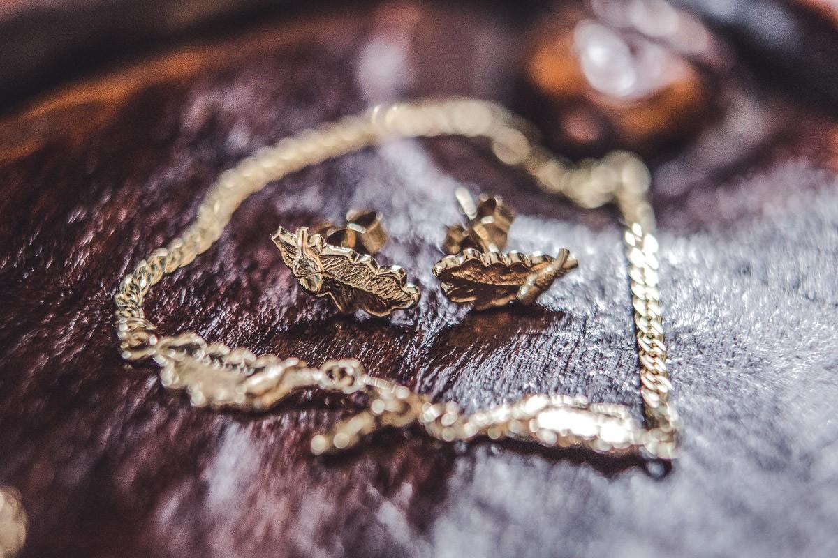 biżuteria panny młodej