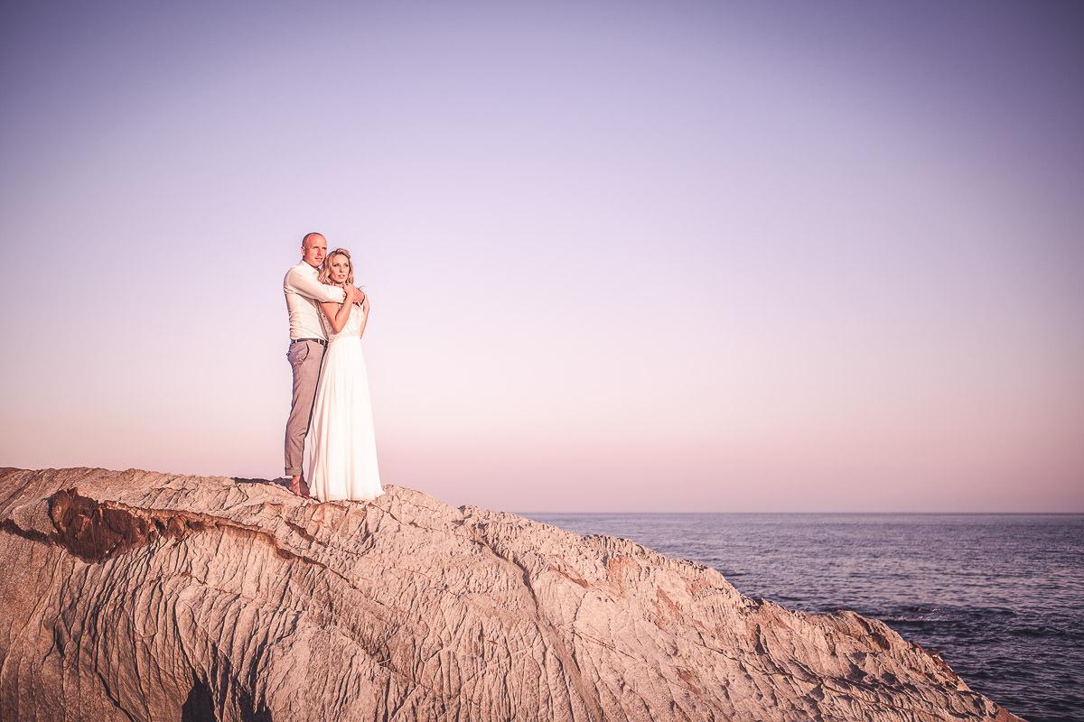 zagraniczny plener ślubny