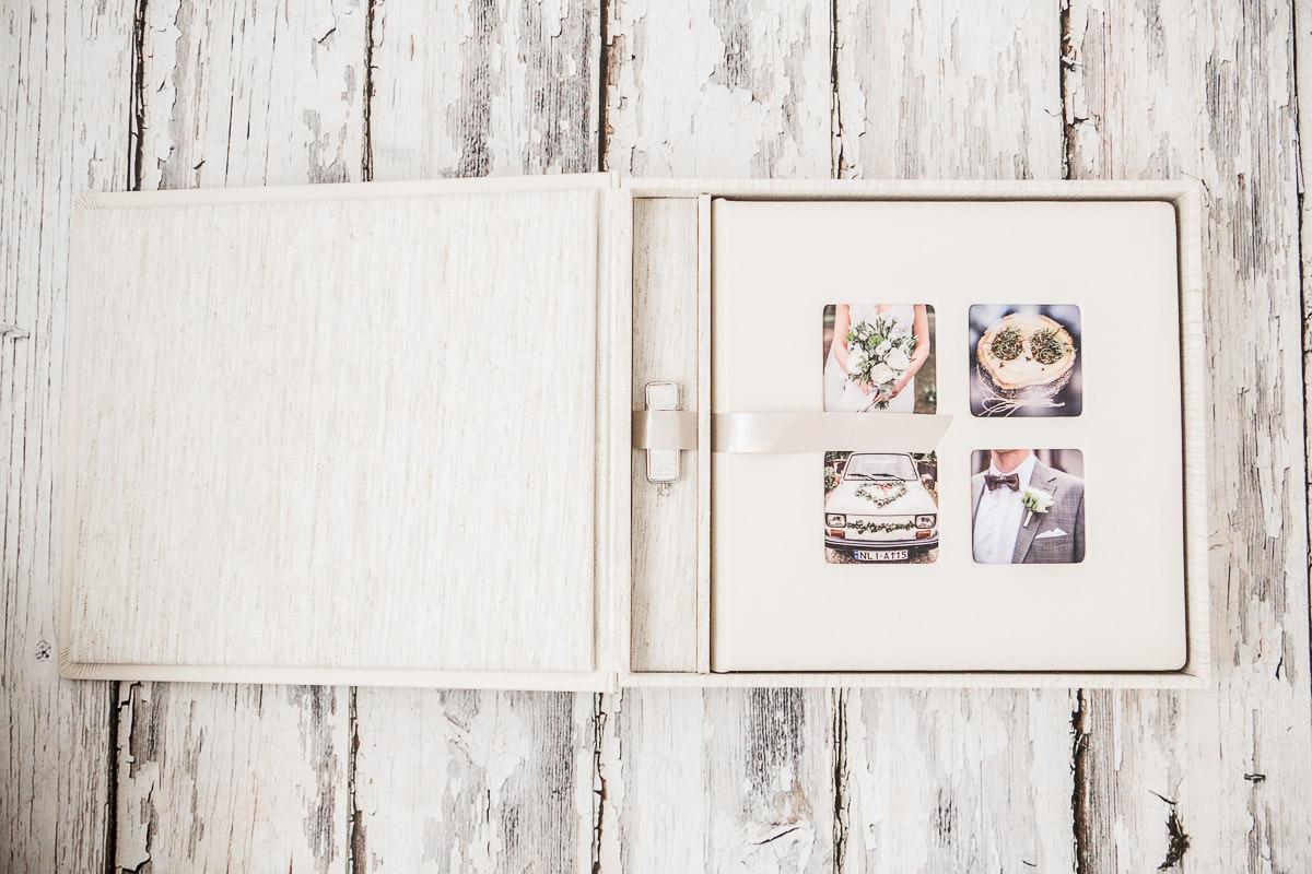 fotoalbum w pudełku